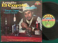 ARNULFO BLANCO El Coyote LP FOGATA Latin Norteno RARE VG++