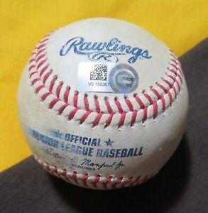BRANDON BELT & EVAN LONGORIA (HIT Back-to-Back DOUBLES)  8/18/2020 MLB Game Used