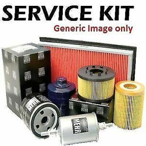 Fits PEUGEOT 307 1.6 16v Petrol 01-09 Plugs, Air, Cabin & Oil Filter ServIce Kit