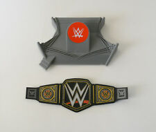 1 WWE Championship Wrestling Belt Ring Decoset Cake Topper Party Decoration Set