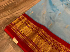 Beautiful Pure Soft Silk Kanjivaram Pattu Saree  Without Blouse Piece