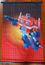 "TRANSFORMERS ""OPTIMUS PRIME - G1"" 60cm X 90cm ANIME CLOTH WALL SCROLL AUTOBOT"