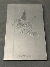 The Salivation Army Black Book by Scott Treleaven Signed Limited Edition 2006