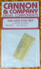 Cannon & Company #2013 EMD Side Step Set for: Athearn SD70MAC (HO Scale)