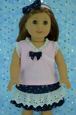 """Dolls Clothes For 18"""" American Girl~Our Generation~Journey  SKIRT~TOP~HEADBAND"""