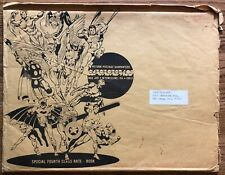 Very Rare 1970 Signed Steranko History of Comics #1 + Original Mailing Envelope