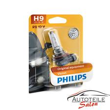 Philips H9 Vision bis zu 30% mehr Licht Premium Halogenlampe 12361B1 1 Stk.