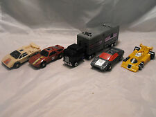 TRANSFORMERS GENERATION 1, G1 DECEPTICON FIGURES LOT OF ALL 5 STUNTICONS