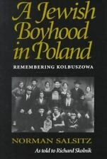 A Jewish Boyhood in Poland: Remembering Kolbuszowa: By Norman Salsitz, Richar...