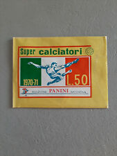 BUSTINA  SUPER  CALCIATORI PANINI 1970/71  PIENA SIGILLATA PERFETTA   !!