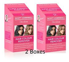 2 X Permanenter Teinture Cheveux Solvant Extra Force Couleur économisez