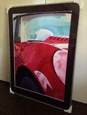 Painting 1976 Chevrolet Corvette C3 by Martin van Hofwegen