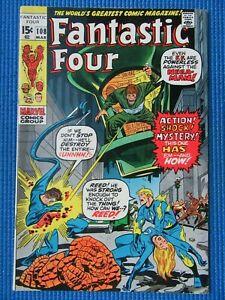FANTASTIC FOUR # 108 - (VF/NM) -MEGA-MAN - AVENGERS, TORCH,MR FANTASTIC