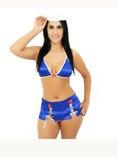 SEXY HOT SAILOR EXOTIC BRAZIL FANTASY LINGERIE WOMENS ADULT HALLOWEEN COSTUME