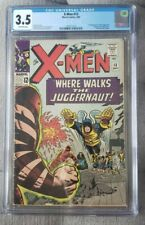 X-Men 13 CGC 3.5 2nd Juggernaut Off-White Pages