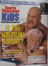 June 2000 Goldberg & Big Poppa Pump Sports Illustrated For Kids