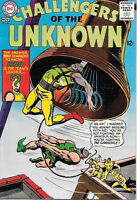 Challengers of the Unknown Comic Book #46, DC Comics 1965 VERY FINE-