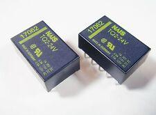 20 x Relais 24V 2xUM 30V 1A 125V 0,5A NAIS Panasonic TQ2-24V Gold #11R71#