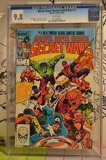 Marvel Super Heroes Secret Wars #1 CGC 9.8 Classic Marvel KEY