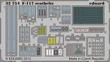 Eduard PE 32754 1/32 Lockheed F-117A Nighthawk CINTURE sedile TRUMPETER