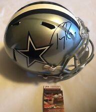 effda9da0 Tony Romo Autographed Full Size Dallas Cowboys Speed Helmet JSA Witnessed  COA