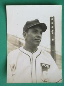 1938 AGRARIO MEXICO ALBERTO ROMO CHAVEZ BASEBALL BEISBOL BLACK AND WHITE PHOTO