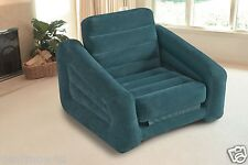 Pull Out Chair Inflatable Bed Watch Movie Game Seat Dorm Room Apartment To Guest