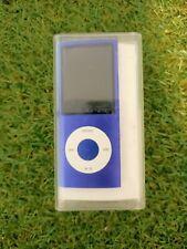 More details for apple ipod nano 8gb purple mp3 player read description
