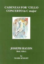 Cadenzas for Haydn 'Cello Concerto in C major Hob. VIIb1 by Mark Knight, SA103