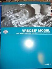 NEW Harley-Davidson 2006 VRSCSE Service Manual Supplement P/N 99525-06