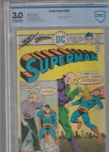 SUPERMAN #292 CBCS 3.0 1975