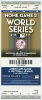 2017 MLB Baseball World Series New York Yankees Phantom Ticket Game 2