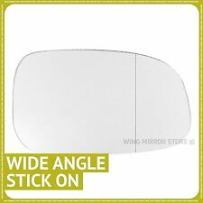 Right Driver Side WIDE ANGLE WING DOOR MIRROR GLASS For Volvo V50 2006-2009