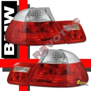 00 01 02 BMW 3-Series E46 2Dr Coupe 330ci M3 Tail Lights RH & LH
