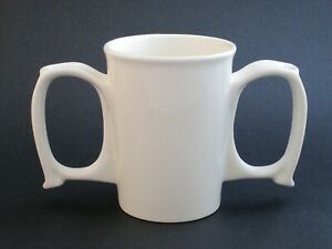 Two Handled Mug - Ceramic
