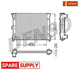 RADIATOR, ENGINE COOLING FOR VW DENSO DRM32022