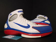 2004 Nike Air Zoom HUARACHE 2K4 KOBE LA ALL-STAR WHITE RED BLUE 308475-146 12