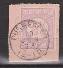 NVPH Netherlands Nederland PURMEREND Cijfer  1876 ; NOW MANY TOP CANCELS Nr 33