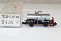 n3231, Fleischmann 8426 K Kesselwagen VDOM der DB mint BOX Spur N NEM KKK