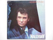 Johnny Hallyday Maxi 45Tours vinyle Aimer Vivre