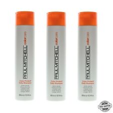 3 Paul Mitchell Color Protect Daily Shampoo 10.14 oz ColorCare For Colored Hair