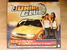 RARE BOITIER CD + DVD / TUNING CLUB 3 / NEUF SOUS CELLO