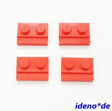 LEGO CREATOR City 4 unid.placa 1 x 2 con vías Rojo 32028 Rojo 4612575 NUEVO