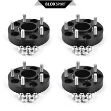 Front 25mm + Rear 30mm 5x114.3 CB60.1 Black Wheel Spacers for Lexus GS450, IS350