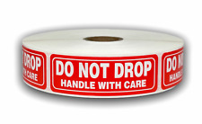 1000 Labels 1x3 Do Not Drop Handle With Care Mailing Shipping Stickers