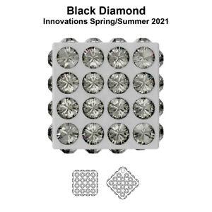 Genuine SWAROVSKI 86401 BeCharmed Pavé Cubes * Different Colors & Sizes
