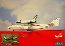 Herpa Wings 1:500 Antonov AN-225 Mriya&Buran CCCP-82060  518895 Modellairport500