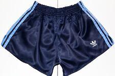 Adidas años 80 Vintage Brillante correr, Sprinter Pantalones Cortos De Nylon, Retro, D7, Tamaño: grande