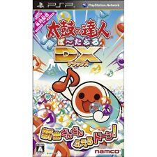 Used PSP Taiko no Tatsujin Portable DX NAMCO SONY PLAYSTATION JAPAN IMPORT