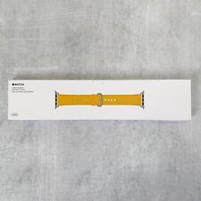 Apple Watch 42MM Classic Buckle Leather Band Marigold Original Genuine OEM